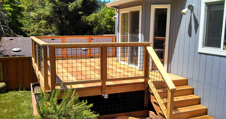 deck contractor in eugene and springfield