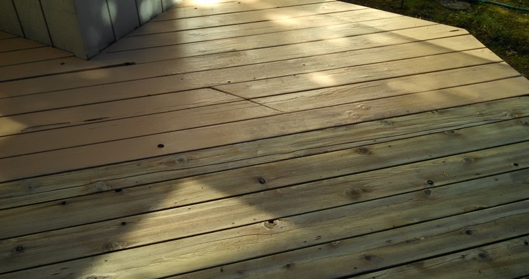oregon deck repair after picture